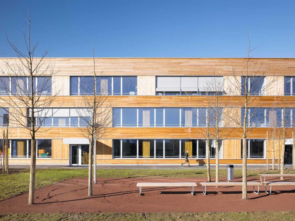 Schulhaus Eichmatt Cham Bild 13