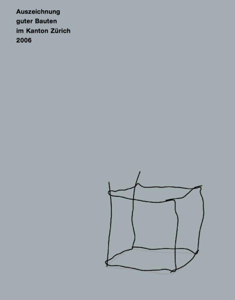 Cover Auszeichnung guter Bauten im Kanton Zürich 2006