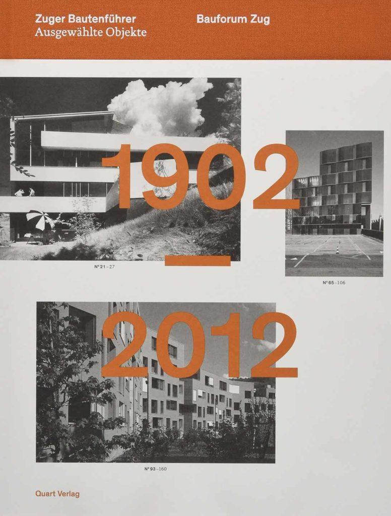 Cover Zuger Bautenführer 1902 - 2012